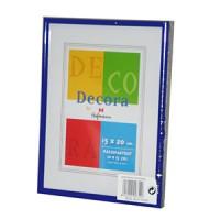 Фоторамка 15х20 Hoffmann, цвет - синий (арт. 45-A 15х20) - Фотолаборатория Печатник