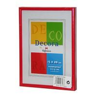 Фоторамка 15х20 Hoffmann, цвет - красный (арт. 45-R 15х20) - Фотолаборатория Печатник
