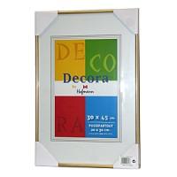 Фоторамка 30х45 Hoffmann, цвет - золотой (арт. 45-O 30х45) - Фотолаборатория Печатник