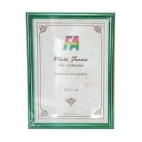Фоторамка 15х21 Радуга, цвет - зеленый металлик (р21 (зеленый металлик)) - Фотолаборатория Печатник