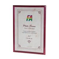 Фоторамка 21х30 Радуга, цвет - пурпурный маталлик (р21х30 (пурпурный металл)) - Фотолаборатория Печатник