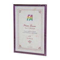 Фоторамка 21х30 Радуга, цвет - фиолетовый металлик (р21х30 (фиолетовый метал)) - Фотолаборатория Печатник