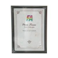 Фоторамка 10х15 Радуга, цвет - черный, акриловое стекло (р15 (черный)акрил) - Фотолаборатория Печатник