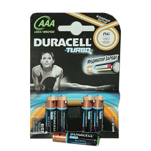 Батарейка Duracell LR03 ААА Turbo (LR03) - Фотолаборатория Печатник