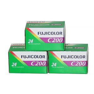 Фотопленка FujiFilm FujiColor 200, 24 кадра (арт. FFFC200x24) - Фотолаборатория Печатник